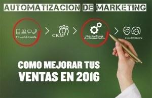 Automatización de Marketing ✅ Cómo disparar tus resultados en el 2016