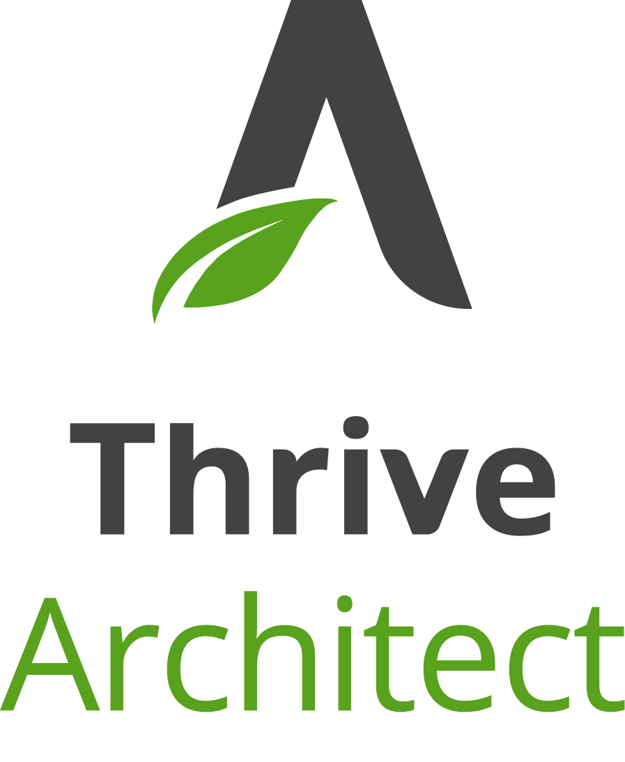 logo thrive architect